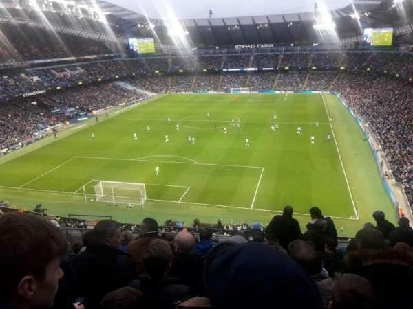 Etihad Stadium (Manchester), vak: 314, rij: K, stoel: 358