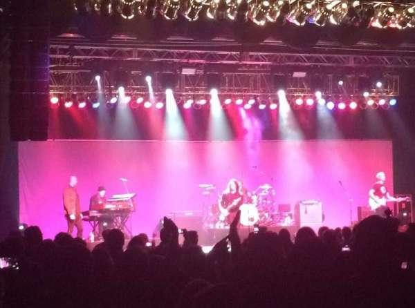 Hard Rock Rocksino Northfield Park, vak: 1, rij: W, stoel: 18