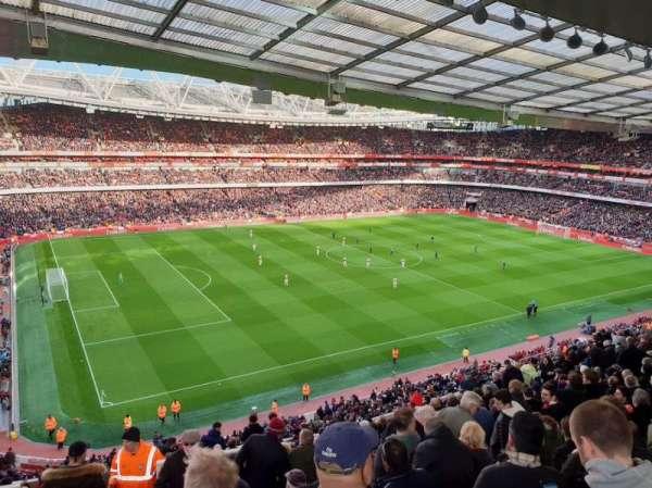 Emirates Stadium, vak: 94, rij: 15, stoel: 12