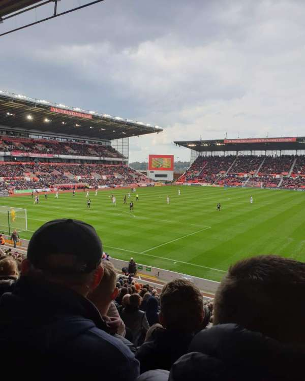 bet365 Stadium, vak: Block 37, rij: 22, stoel: 842