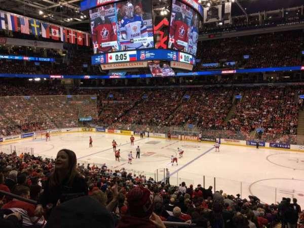 Scotiabank Arena, vak: 117M, rij: 26, stoel: 24