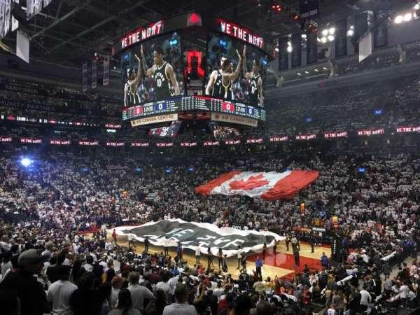 Scotiabank Arena, vak: 106, rij: 21, stoel: 1