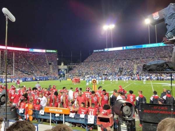 LaVell Edwards Stadium, vak: 5, rij: 4, stoel: 33
