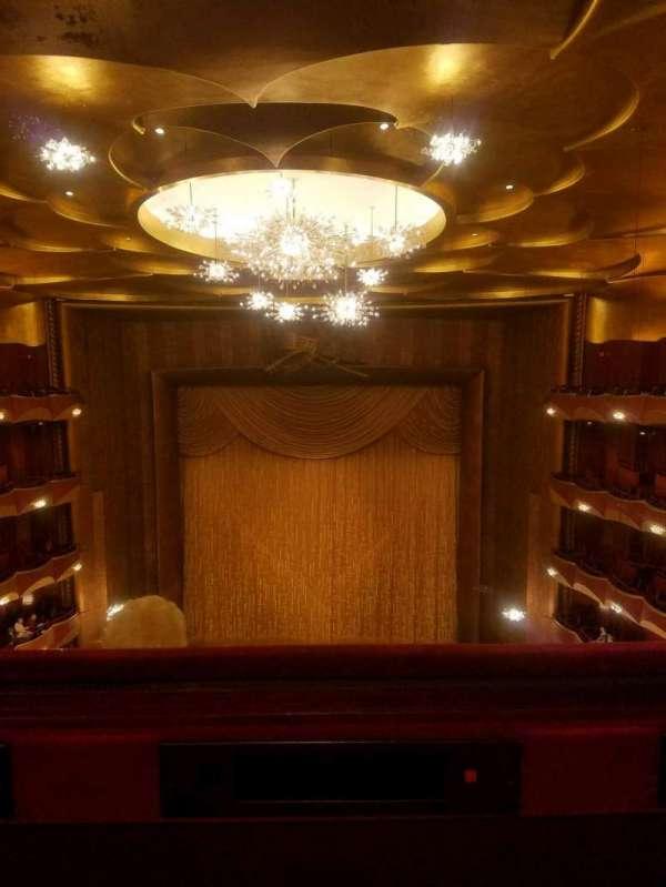 Metropolitan Opera House - Lincoln Center, vak: Family Circle, rij: A, stoel: 110