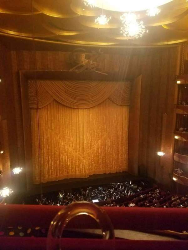Metropolitan Opera House - Lincoln Center, vak: Balcony, rij: A, stoel: 3