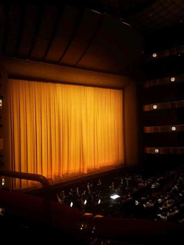 David H. Koch Theater, vak: 2nd ring, rij: A, stoel: 35