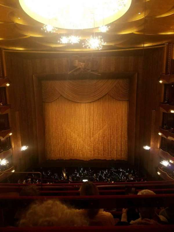 Metropolitan Opera House - Lincoln Center, vak: Balcony, rij: D, stoel: 104