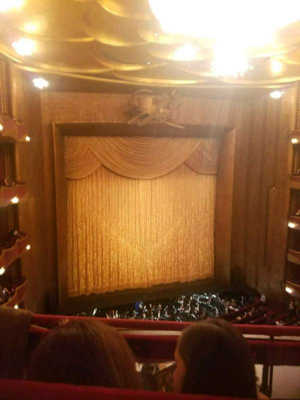 Metropolitan Opera House - Lincoln Center, vak: Balcony, rij: B, stoel: 9