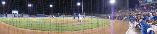 Cashman Field, vak: A, rij: 2, stoel: 5