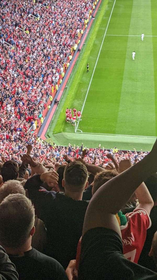 Old Trafford, vak: W3102, rij: 31, stoel: 146