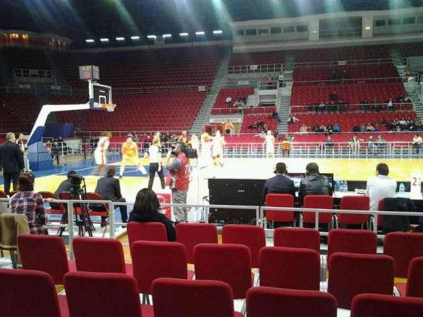 Abdi İpekçi Arena, vak: 113, rij: 1, stoel: 18