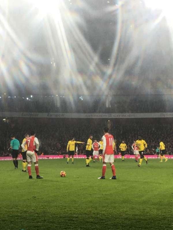 Emirates Stadium, vak: 2, rij: 2, stoel: 56
