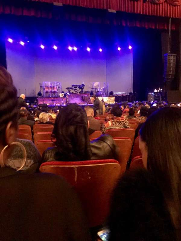 Chicago Theatre, vak: Mnfl4L, rij: C, stoel: 417
