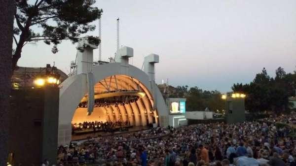 Hollywood Bowl, vak: K3, rij: 1, stoel: 5