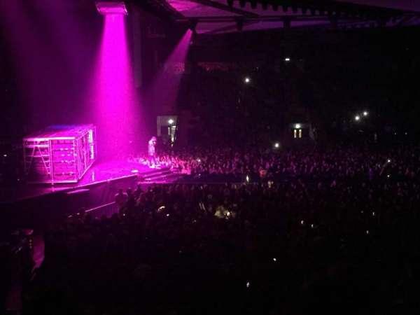 Utilita Arena, vak: 218, rij: U, stoel: 434