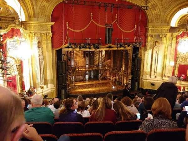 Boston Opera House, vak: Mezzanine Left, rij: K, stoel: 9