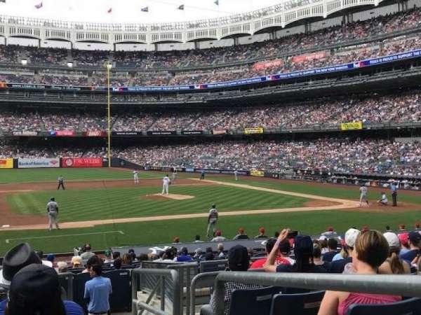 Yankee Stadium, vak: Field MVP 125, rij: 10, stoel: 1