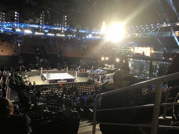 Scotiabank Arena, vak: 120, rij: 22, stoel: 1