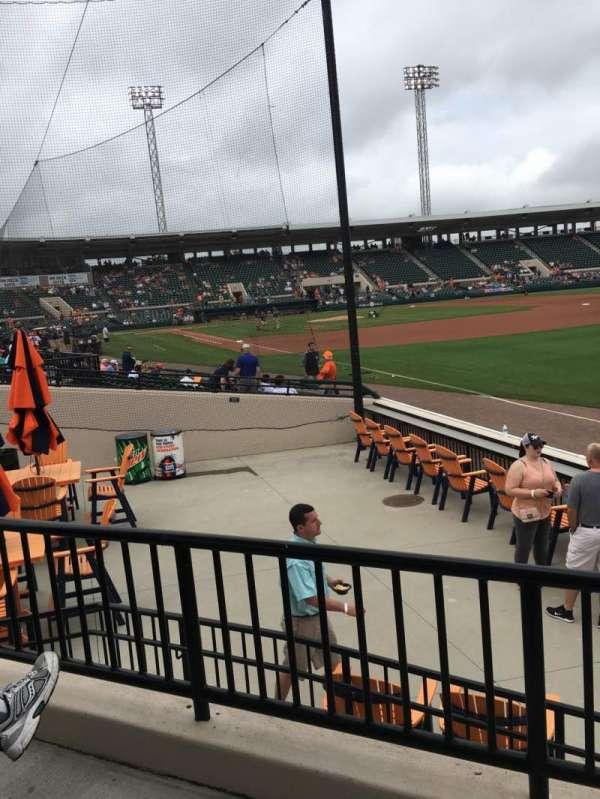 Joker Marchant Stadium, vak: Pepsi Pavilion