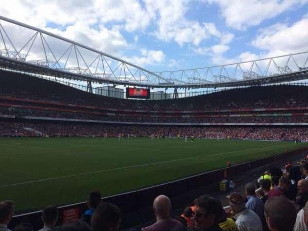Emirates Stadium, vak: 20, rij: 6, stoel: 628