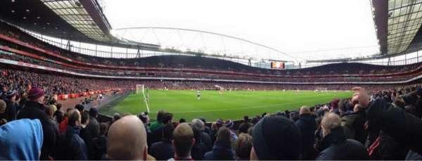 Emirates Stadium, vak: 20, rij: 8, stoel: 622