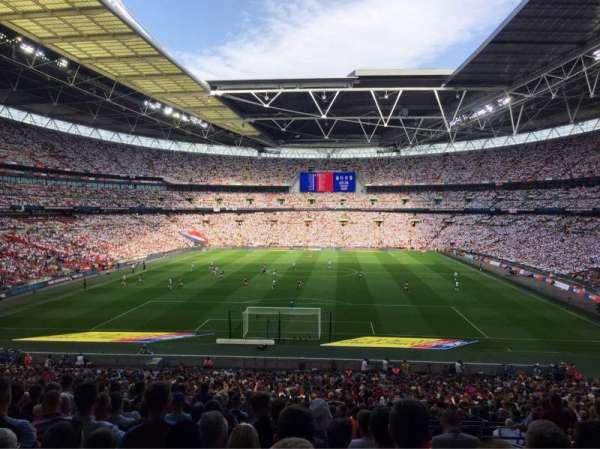 Wembley Stadium, vak: 133, rij: 44, stoel: 309