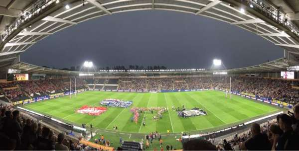 Craven Park, Hull, vak: West Stand Upper, rij: Unreserved