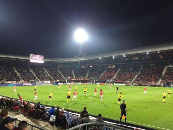 AFAS Stadion, vak: O, rij: 4, stoel: 28