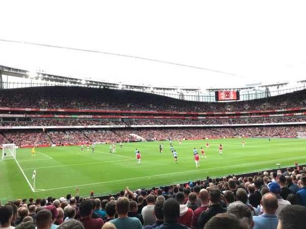 Emirates Stadium, vak: 20, rij: 18, stoel: 619