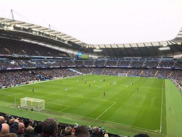 Etihad Stadium (Manchester), vak: 213, rij: L, stoel: 340