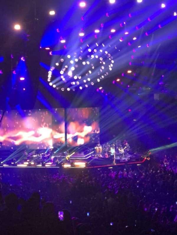 MGM Grand Garden Arena, vak: 9, rij: X, stoel: 17