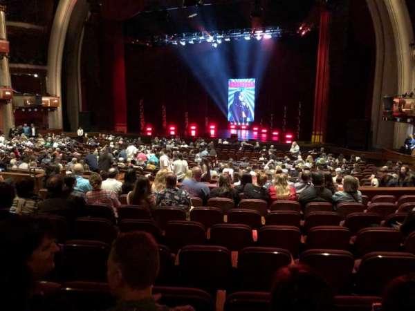 Dolby Theatre, vak: Parterre R, rij: J, stoel: 11