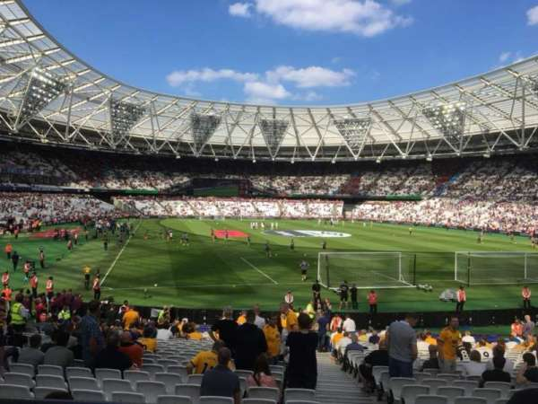 London Stadium, vak: Away Disabled Section