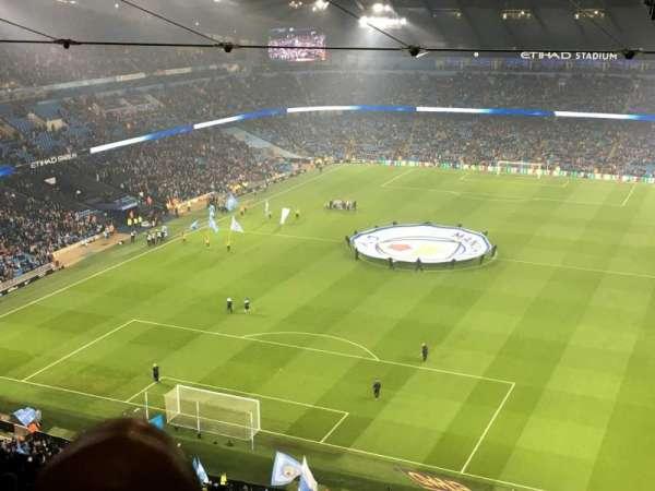 Etihad Stadium (Manchester), vak: 313, rij: FF, stoel: 344