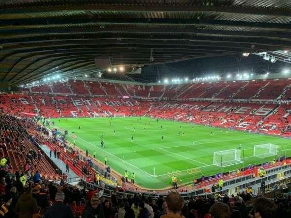 Old Trafford, vak: E231, rij: 29, stoel: 43