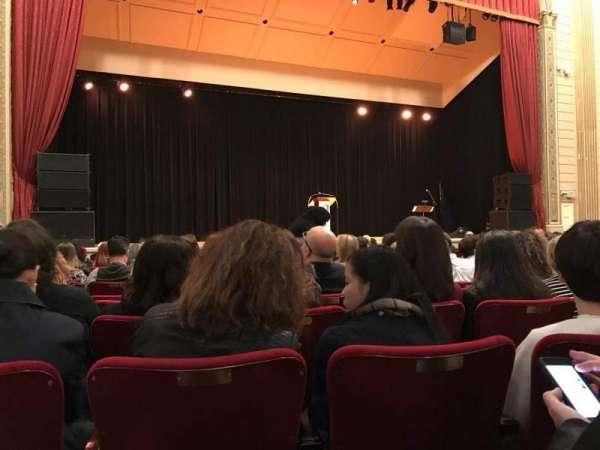 The Town Hall, vak: Orchestra, rij: O, stoel: 125