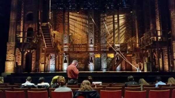 Durham Performing Arts Center, vak: 3, rij: H, stoel: 111