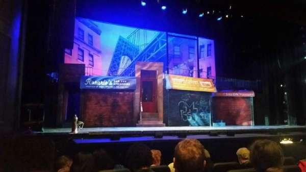 Raleigh Memorial Auditorium, vak: B, rij: E, stoel: 8