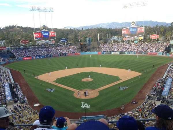 Dodger Stadium, vak: 44RS, rij: O, stoel: 5