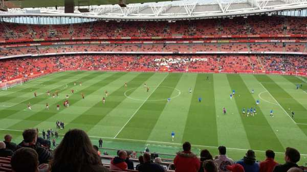 Emirates Stadium, vak: 133, rij: 12, stoel: 1178