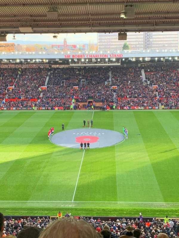 Old Trafford, vak: N3405, rij: 17, stoel: 109