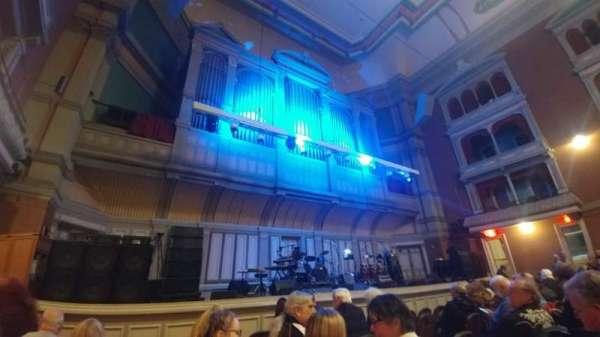 Troy Savings Bank Music Hall, vak: Parquet Left