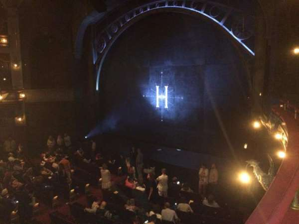 Lyric Theatre, vak: Dress Circle Right, rij: A, stoel: 22