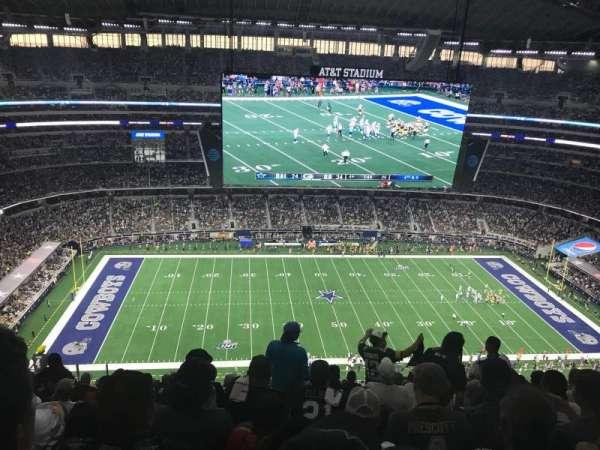 AT&T Stadium, vak: 414, rij: 25, stoel: 13