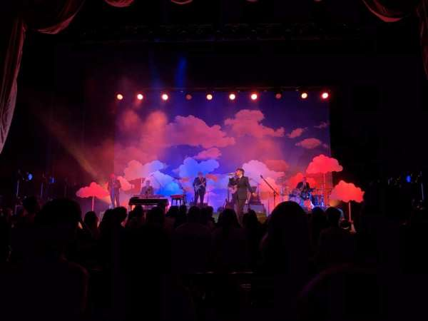 Radio City Music Hall, vak: Orchestra 4, rij: EE