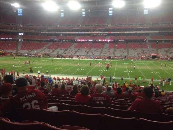 State Farm Stadium, vak: 127, rij: 37, stoel: 11