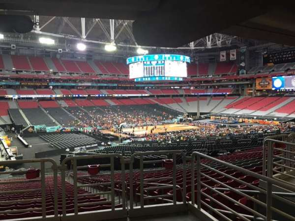 University of Phoenix Stadium, vak: 135, rij: WC, stoel: 2