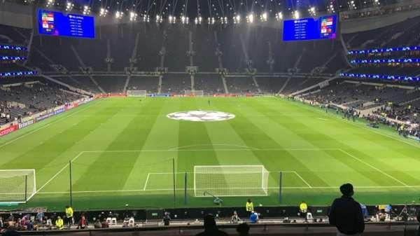 Tottenham Hotspur Stadium, vak: 420, rij: 8, stoel: 380