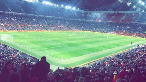 Old Trafford, vak: W210, rij: 22, stoel: 48