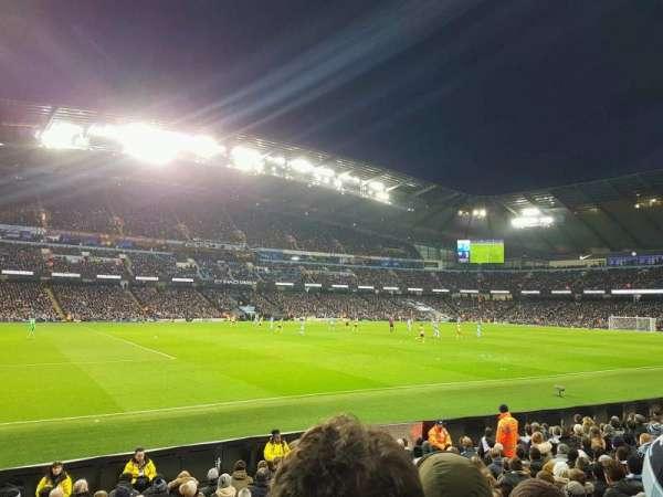 Etihad Stadium (Manchester), vak: 109, rij: L, stoel: 220